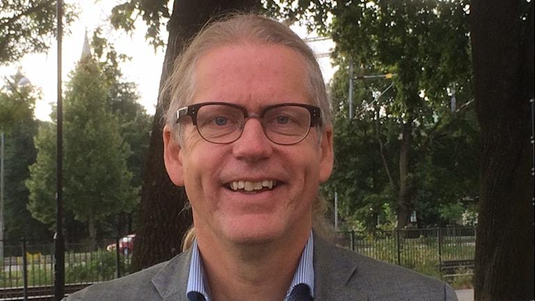 Mats Gunnarsson, regionråd MP. Foto: Marie Hansson/SR.