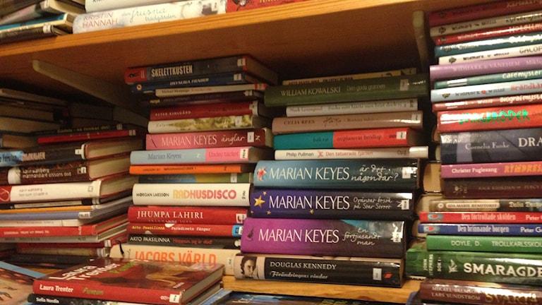 Böcker, biblioteksböcker