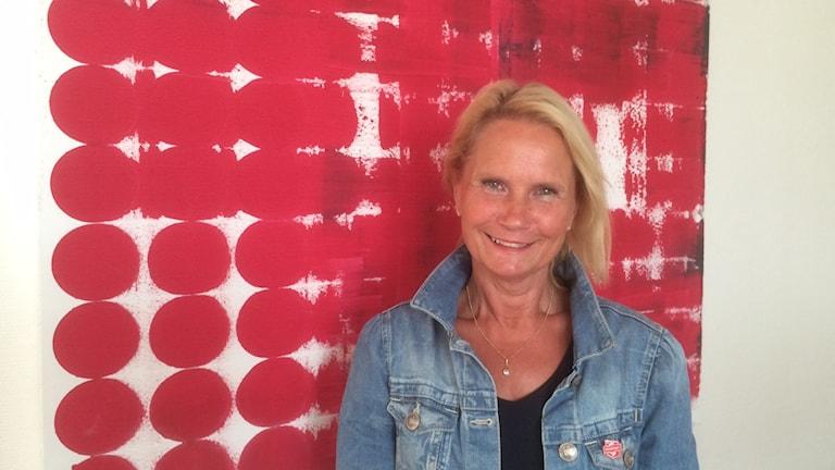 Marie-Louise Forsberg-Fransson, S leder arbetet i samverkansrådet. Foto: Marie Hansson/SR.