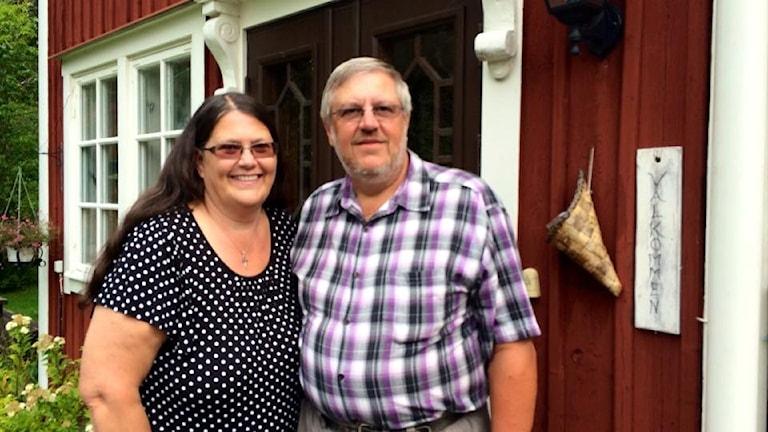 Gudrun och Pär Söderberg, Mullhyttan, har haft sitt hem öppet för barn i 37 år. Foto: Maria Rinaldo/Sveriges Radio.