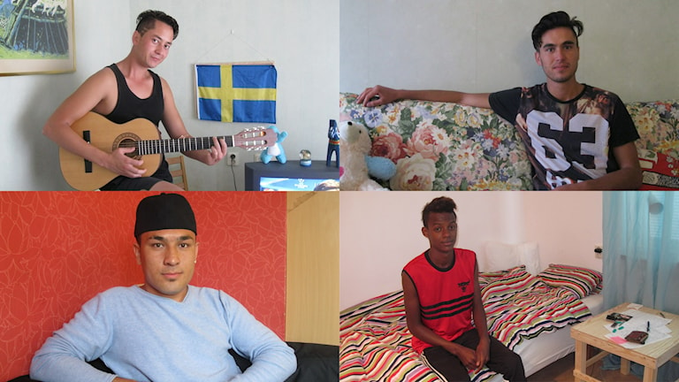 Bashir, Ismael, Essa och Amiin