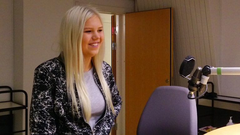 Celicia Gustavsson, Virginska skolan. Foto: Jens Tisbo/ Sveriges Radio