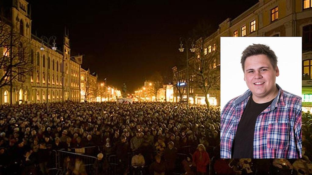 Linus Andersson - finalist i Årets lokalartist 2015.