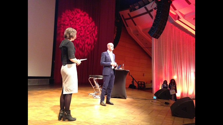 Reinfeldt på Hj Bergmanteatern