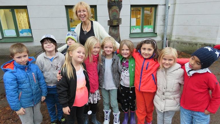 Delar av klass 1B Stureskolan Örebro