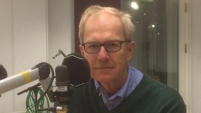 Erik Amnå, professor vid Örebro universitet. Foto: Marie Hansson/Sveriges Radio.