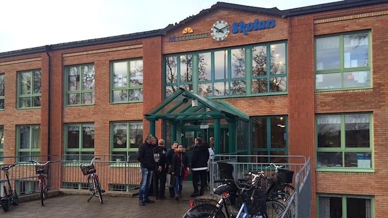 på Mellringeskolan i Örebro.