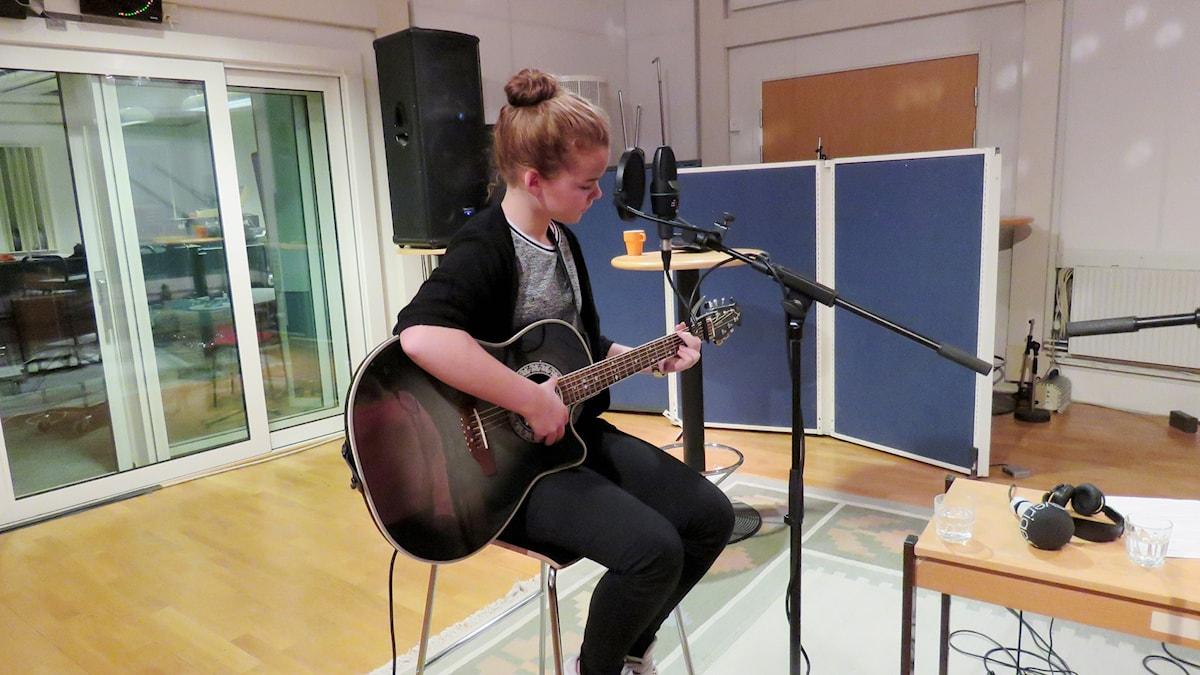 Emmy&Ella. Foto: Eva Hallgren/Sveriges Radio.