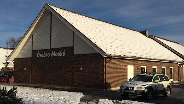 Örebro moské strax innan fredagsbönen. Foto: Karwan Tahir/Sveriges Radio.