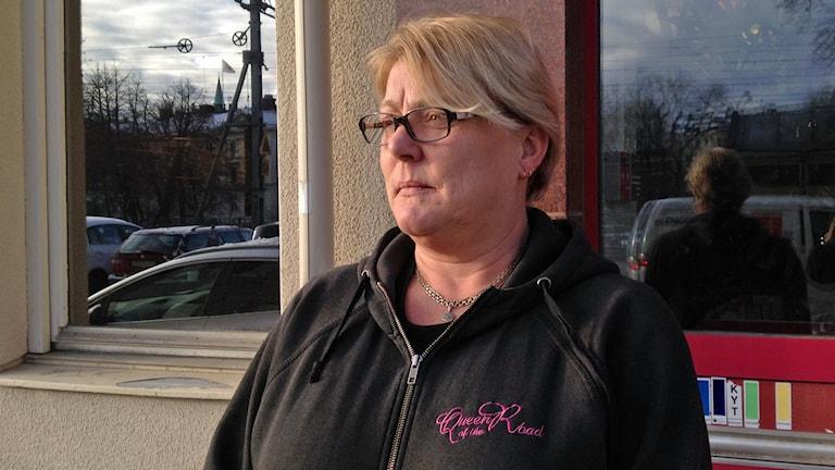 Lena Jervgren kvinnlig lastbilschaufför
