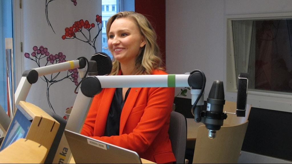 Ebba Busch Thor partiledare Kristdemokraterna