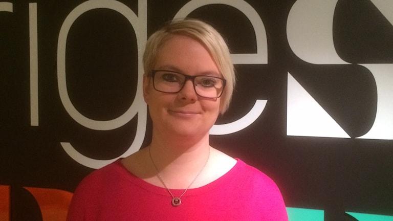 Sara Pettersson, Mp Laxå. Foto: Marie Hansson/Sveriges Radio.