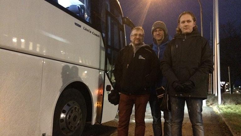 Mats Låås, Oliver Tisbo och Ludwig Drugge