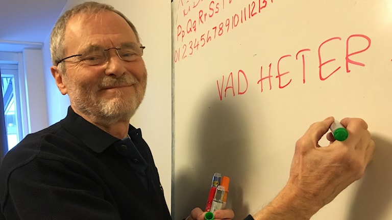 Hans Jonsson, Röda Korset, volontär, flyktingbarn