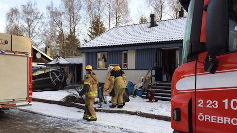 Rökutveckling villa Lillån
