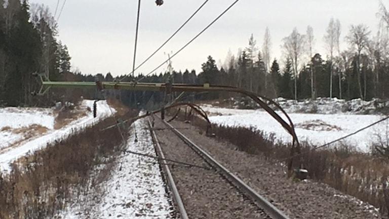 Tåg ur spår Frövi Sällinge