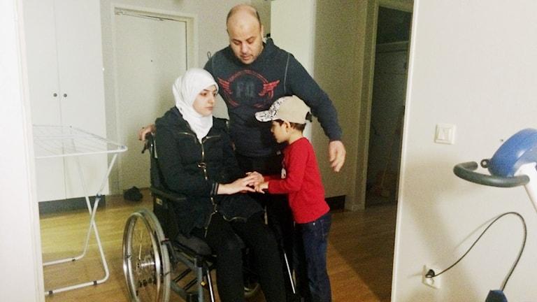Heba Kudmani får ingen hjälp från Ljusnarsbergs kommun