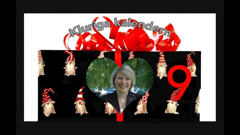 Kluriga kalendern lucka 9 - Alexandra Ullsten