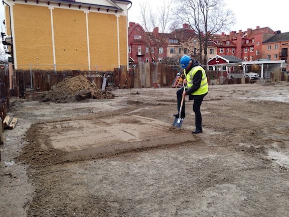 Björn Eriksson spadtag studentbostäder Faktorigatan