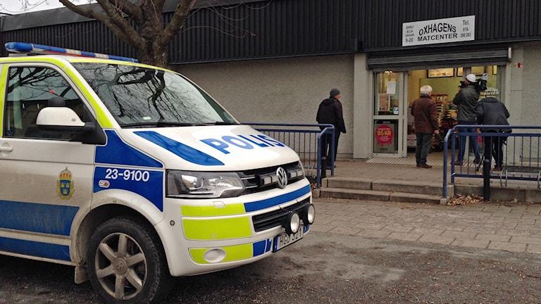Oxhagen rån matbutik Örebro