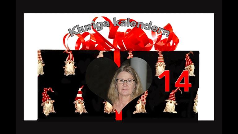 Kluriga kalendern lucka 14 - Ann-Sofie Lennqvist-Linden