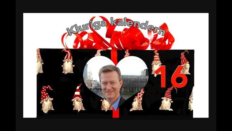 Kluriga kalendern lucka 16 - Mikael Quennerstedt