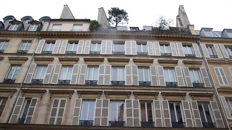 Huset i Paris där Nobels testamente bevittnades.