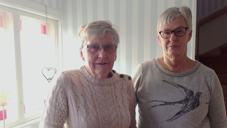 Birgitta Persson och Birgitta Adolfsson Häggqvist aktieklubb Häxagon Nora