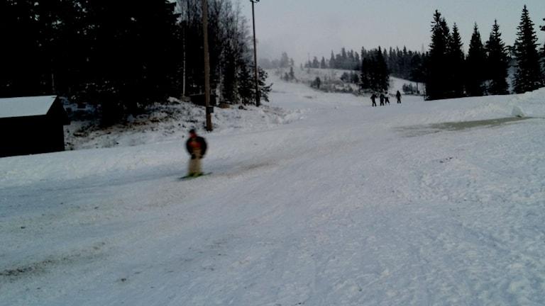 Gillersklack, utförsåkning, skidor, backar, hoppbacke