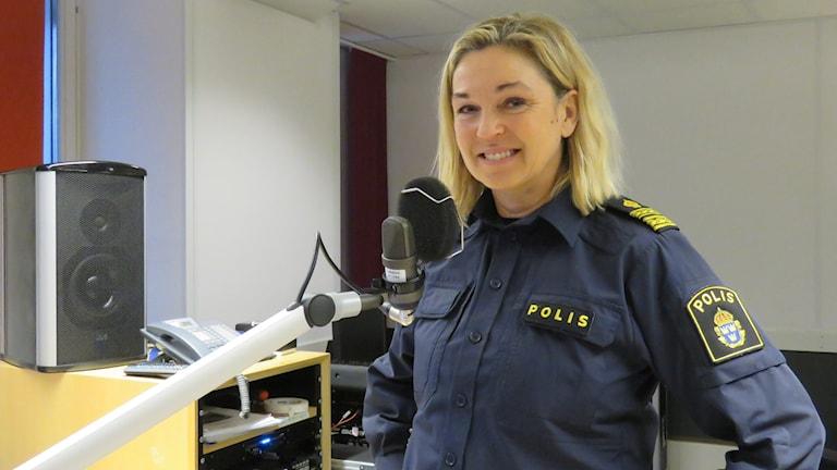 Annika Haaster, chef lokalpolisområde Örebro