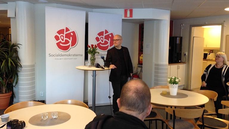 Presskonferens, Kenneth Nilsson (S)