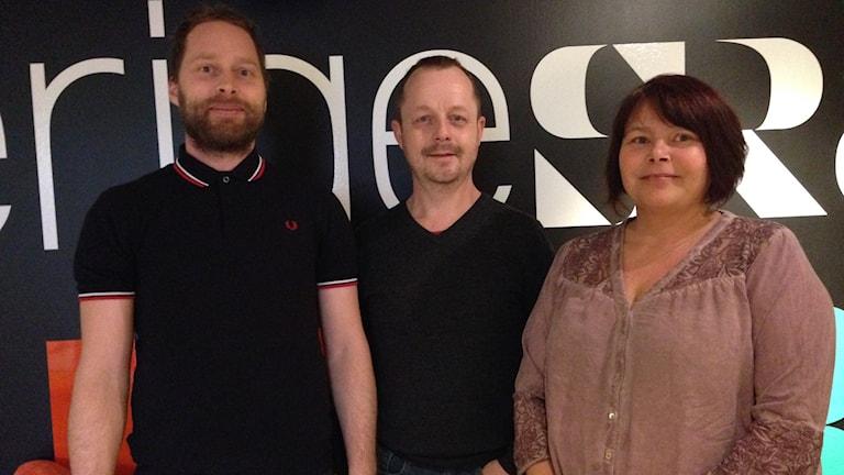 Naturfilmfestival, David Tverling, Jonas Forsberg och Rosita Holm