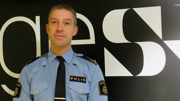 Henrik Dahlström, gruppchef ledningscentralen Örebro