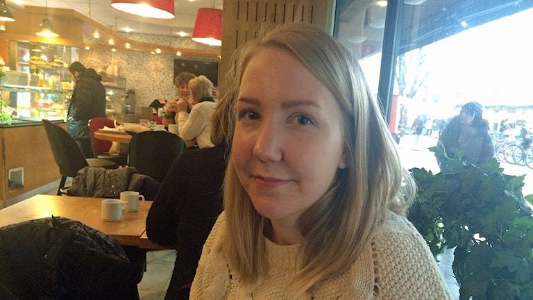 Sofi Sundvall, miljöinspektör på Örebro kommun