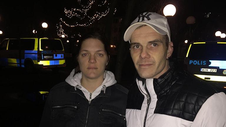 Linnea Appelskog och Jörgen Johansson