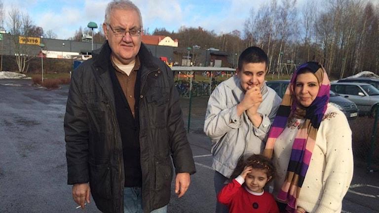 Boende på asylboendet i Karlskoga Hotell