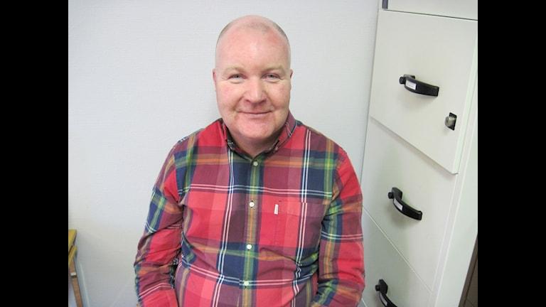 Mathz Eriksson är lokalt fackligt ombud på Akademikerförbundet SSR i Ljusnarsberg.