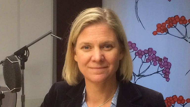 Magdalena Andersson (S) finansminister