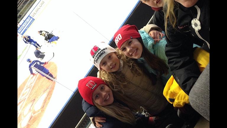 Sanna, Sofia och Ella njöt av tre kronors träning i Örebro.