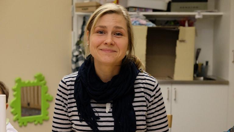 Linda Axmon, förskolelärare, Måsens förskola