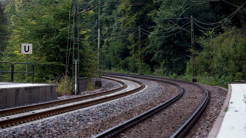 tågspår räls