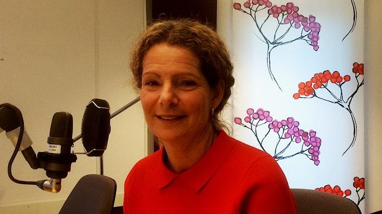 Cilla Benkö vd Sveriges Radio SR