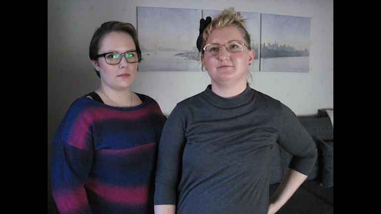 Ida Törnström och Towe Dam tycker det är viktigt att prata om psykisk ohälsa.