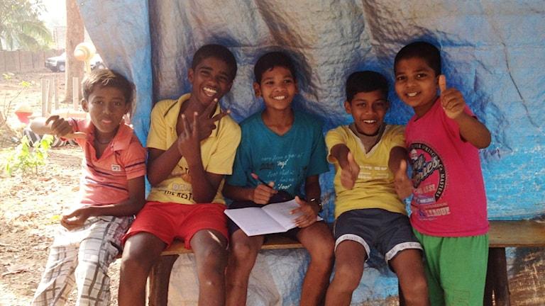 Indien, slum, angelica rodenfelt