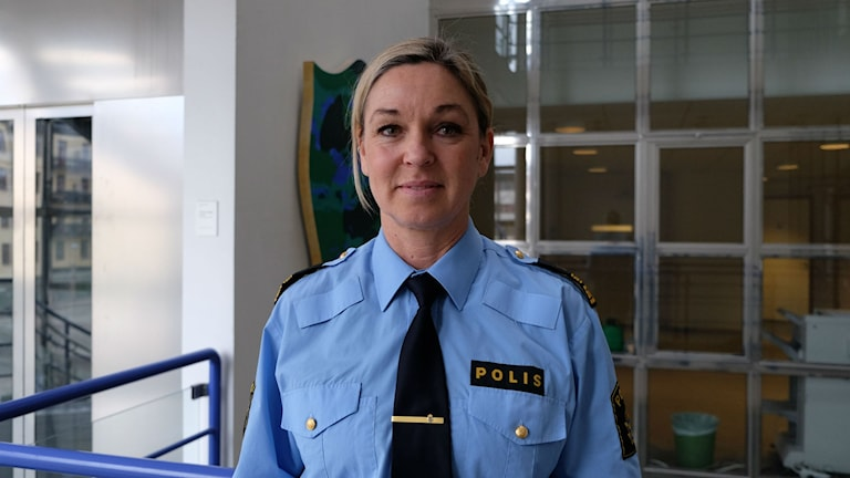 Annika Laestadius, chef vid lokalpolisområde Örebro.