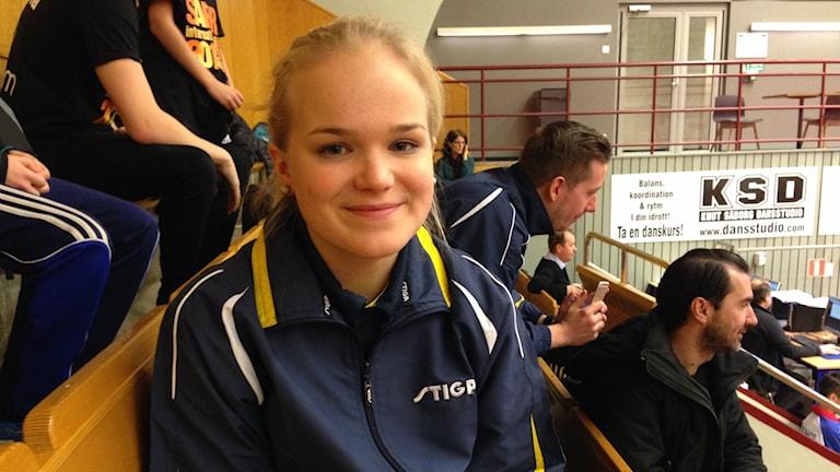 Ellen Holmsten har gått vidare till slutspel i Safir International.
