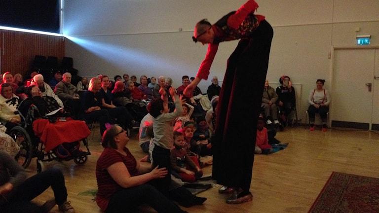 Cirkus Cirkör besök i Karlskoga
