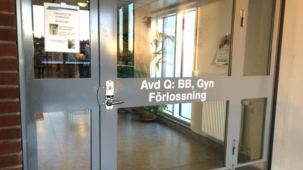 Anställda på avdelning Q i Karlskoga. BB, förlossning, gyn, barnmorskor, undersköterska