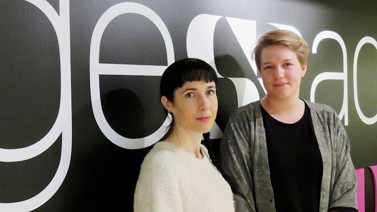 Ida Flinkde och Linnea Engman