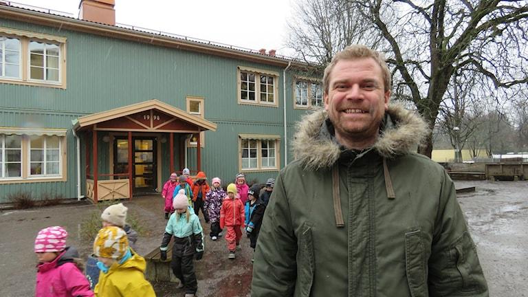 Stureskolan Rektor Richard Fagerström skolgård